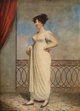'Portrait of a Lady', 1804. Artist: Adam Buck.