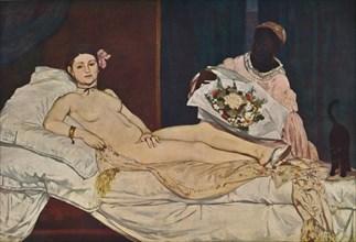 'Olympia', 1863. Artist: Edouard Manet.