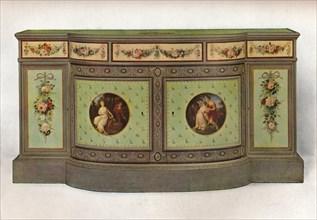 'Secretaire commode', c1785 Artist: George Brookshaw.