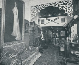 'One of the Reception Rooms at the Sandow Institute',c1898. Artist: Unknown.