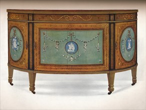 'Commode of Lunette Form', c1775. Artist: Unknown.