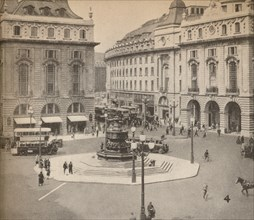 Piccadilly Circus 1931, (1935). Artist: Unknown.