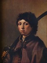 'Boy with a Sabre', c1640. Artist: Hendrik Gerritsz Pot.