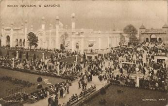 'Indian Pavilion & Gardens', c1925.  Artist: Campbell Gray.