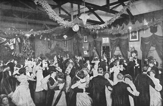 A Christmas dance at the German Gymnasium, London, c1902 (1903). Artist: Unknown.