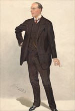 'Mr. Hugh Chisholm', 1911  Artist: Sir Leslie Matthew Ward.