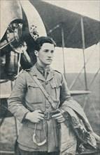 Albert Ball, British First World War pilot and recipient of the Victoria Cross, c1917 (c1937). Artist: Unknown.