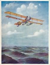 'The Eyes of the Fleet: A Short Seaplane', c1918 (1919). Artist: Geoffrey Watson.