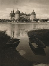'Moritzburg Castle near Dresden', 1931. Artist: Kurt Hielscher.