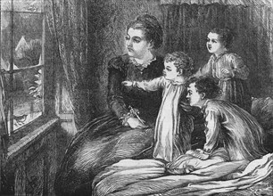 A Christmas Visitor, 1870. Artist: Horace WilliamPetherick.