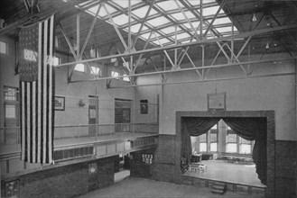 Auditorium-gymnasium, Edward S Bragg School, Fond du Lac, Wisconsin, 1922. Artist: Unknown.