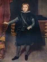 'Infant Baltasar Carlos (1629-1646)', 1639 (c1927). Artist: Diego Velasquez.