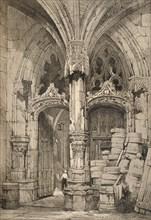 'Tours', c1820 (1915). Artist: Samuel Prout.