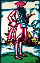 'Blackbeard', c1900, (1926). Artist: Edward Wilson.
