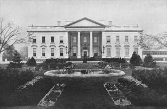 'Washington: The White House', 1915. Artist: Unknown.