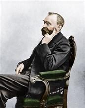 Alfred Berhard Nobel, c1880s. Artist: Unknown.