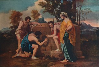 'Et in Arcadia ego (Les bergers d'Arcadie or The Arcadian Shepherds)', 1637-1638, (1911). Artist: Nicolas Poussin.