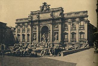 'Roma - Fountain of Trevi', 1910. Artist: Unknown.