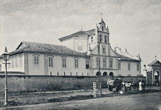 'Convento da Luz', 1895. Artist: Paulo Kowalsky.