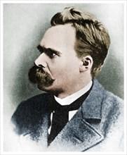 'Superman': Friedrich Nietzsche, German philosopher, 19th century (1956). Artist: Unknown.