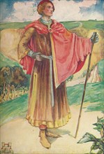 'A Man of the Time of Henry II', 1907. Artist: Dion Clayton Calthrop.