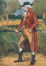 'A Man of the Time of George III', 1907. Artist: Dion Clayton Calthrop.