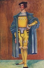 'A Man of the Time of Henry VIII', 1907. Artist: Dion Clayton Calthrop.