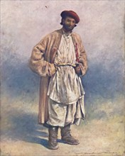 'A Hindoo Hill-shepherd of Kashmir', 1903. Artist: Mortimer L Menpes.