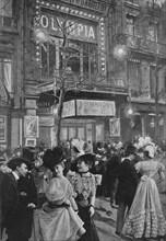 'Sur Le Boulevard - La Sortie De L'Olympia', 1900. Artist: Unknown.