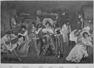 'Sous Les Armes', 1900. Artist: Unknown.