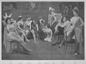 'Le Foyer Des Artistes', 1900. Artist: Unknown.