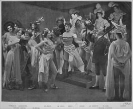 'En Scene Pour Le Trois!', 1900. Artist: Unknown.