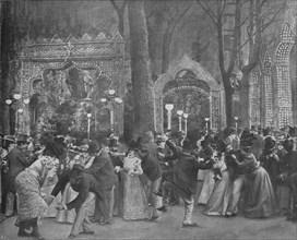'Le Jardin Du Bal Bullier', 1900. Artist: Unknown.