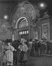 'La Sortie De Bullier', 1900. Artist: Unknown.