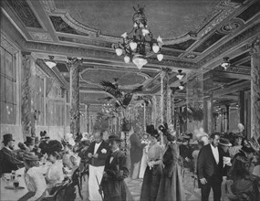 'La Grande Salle Du Cafe Americain', 1900. Artist: Unknown.