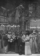 'Au Moulin Rouge - Dans Le Jardin', 1900. Artist: Unknown.