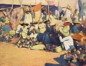 'Puebla', 1903. Artist: Mortimer L Menpes.