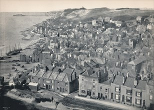 'Hastings - From the East Hill', 1895. Artist: Unknown.