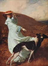 'Diana of the Uplands', 1903-1904, (c1915). Artist: Charles Wellington Furse.