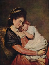 'Mrs Johnstone and her Son (?)', 1775-1780, (c1915). Artist: George Romney.