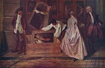 'L'Enseigne de Gersaint (fragment)', 1720-1721, (1937). Artist: Jean-Antoine Watteau.