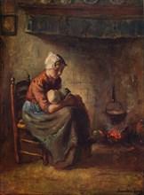 'A Cottage Madonna', c1915. Artist: Bernard De Hoog.