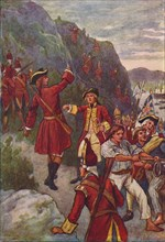 'The Capture of Quebec', 1916. Artist: John Jellicoe.