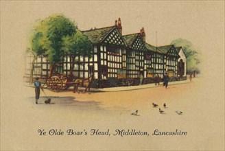 'Ye Olde Boar's Head, Middleton, Lancashire', 1939. Artist: Unknown.