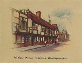 'Ye Olde Ostrich Colnbrook, Buckinghamshire', 1939. Artist: Unknown.
