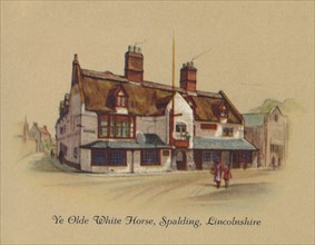 'Ye Olde White Horse, Spalding, Lincolnshire', 1939. Artist: Unknown.