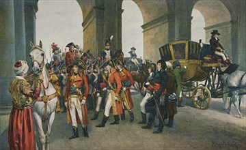 'The Consuls Take Possession of the Tuileries', 10 August 1792, (1896).  Artist: Unknown.