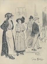 'Costers', 1920. Artist: George Belcher.