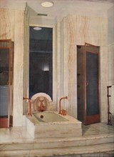 'Bathroom by F. D. Blake, W. N. Froy & Sons', 1939. Artist: Unknown.