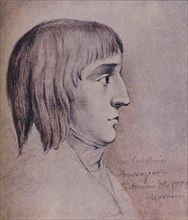 'Napoleon Bonaparte in 1785, Aged Sixteen', (1896). Artist: Unknown.